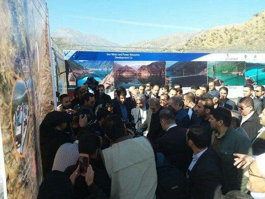 نیروگاه برق آبی ۱۵۰ مگاواتی سردشت به بهرهبرداری رسید