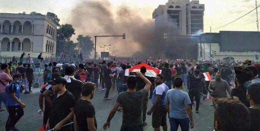 معترضان نقشه راه بغداد را کشیدند/نشست سران عراقی پشت درهای بسته