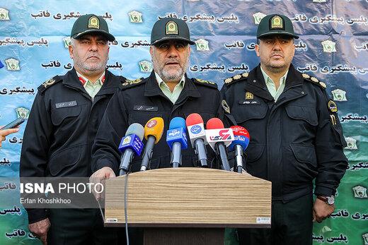 کشفیات نیروی انتظامی در سیامین مرحله از طرح رعد
