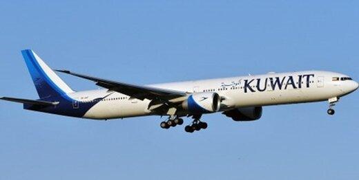 اخبار تأیید نشده درباره فرود هواپیمای کویتی در اسرائیل