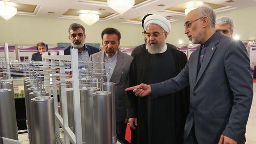 پیام توئیتری روحانی درباره برداشته شدن چهارمین گام کاهش تعهدات برجام