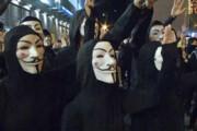 فیلم   ماسکهای «گای فاکس» روی صورت معترضان هنگکنگی