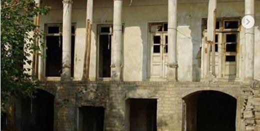 مرمت «عمارت قاجاری» در قلب تهران شروع شد