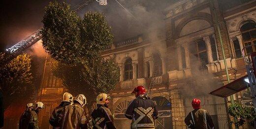 بخشهای سوخته میدان حسن آباد چه زمانی بازسازی میشود؟