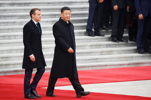سوغاتی ۱۵ میلیارد دلاری ماکرون از چین برای فرانسه