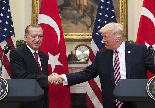 ترامپ و اردوغان درباره آینده منطقه مذاکره کردند؛ اردوغان عازم آمریکا است