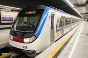 برخورد با قطار مترو جان کارگر جوان را گرفت