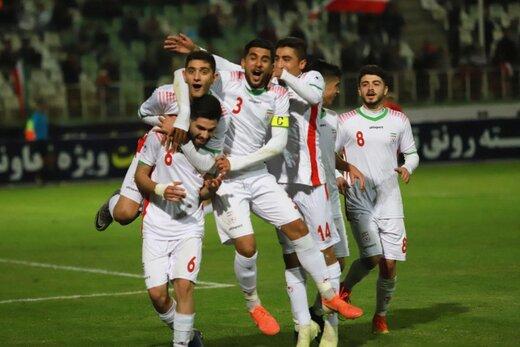 توفان 4گله جوانان ایران مقابل نپال