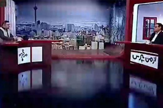 فیلم | در برنامه زنده تلوزیون اتفاق افتاد: به خانمها بگویید چه سری، چه دُمی، عجب پر و بالی...!