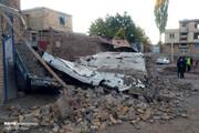 تصاویر   خساراتی که زلزله به روستاهای ورزقان و ورنکش وارد کرد