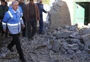 اعلام آمار واحدهای مسکونی آسیبدیده در زلزله میانه