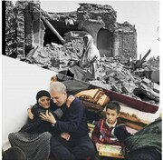 تصویر و متن معنادار در اینستاگرام سخنگوی دولت بعد از زلزله آذربایجان