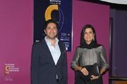 سارا بهرامی در مهمانی شام جشنواره فیلمهای ایرانی در استرالیا/ عکس