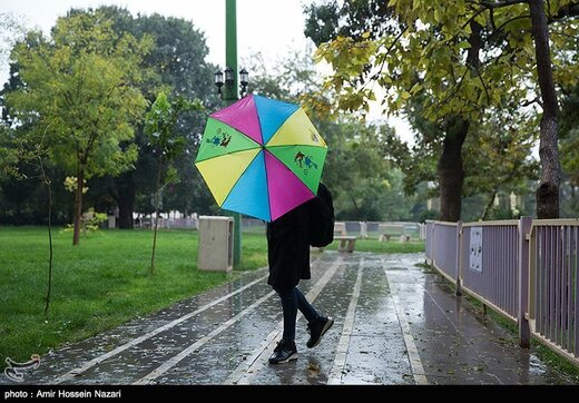۹ استان بارانی میشود