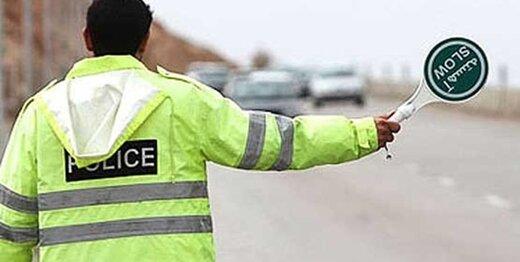 ممنوعیت تردد خودروهای شخصی در معابر منتهی به مناطق زلزلهزده