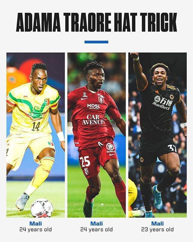 تعداد بازیکنانی با نام «آداما ترائوره» در تیم ملی مالی هر روز بیشتر میشود!