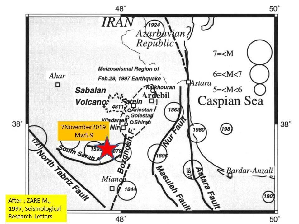 زلزلههای آذربایجان