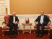 Zarif, Cavusoglu meet on ECO meeting