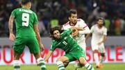 درهای ورزشگاه امان باز شد؛ لیدر تیم اردن حامی عراق مقابل ایران/عکس