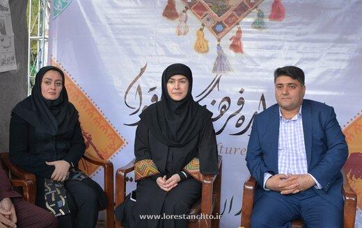 رضایتمندی معاون وزارت میراث فرهنگی از کیفیت بالای جشنواره اقوام در خرم آباد