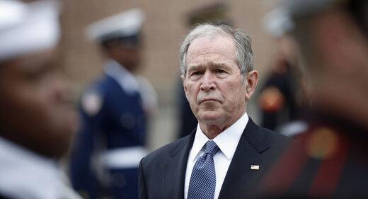 بوش پسر به آینده خوشبین نیست