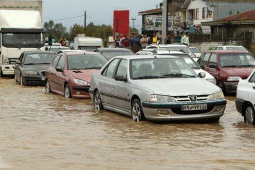 فیلم | عمق آبگرفتگی در بندرعباس پس از باران