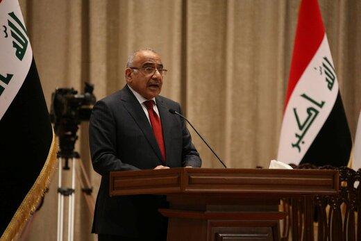 عبدالمهدی با صدور بیانیهای از عوامل ایجاد بنبست در عراق گفت