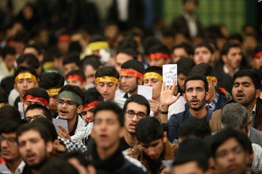 فیلم | در حاشیه دیدار دانشآموزان و دانشجویان با رهبر انقلاب