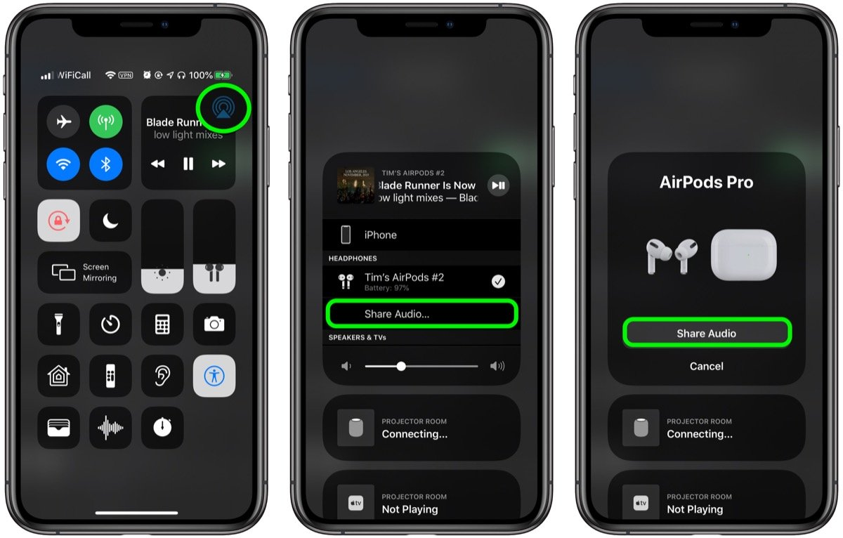 Audio Sharing