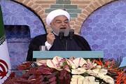 فیلم | روحانی: مردم در دوسال گذشته روزهای سختی را گذراندند