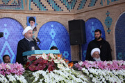 روحانی:مبارزه با فساد دانهدرشتها کجاست؟ /یک ریال هم در این دولت گم نمیشود