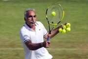 تنیسور ایرانی درخواست تنیس بازی کردن با ترامپ را رد کرد