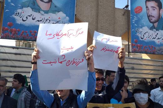 تصاویر | دستنوشتههایی که چند معترض دولت در دست گرفتند!
