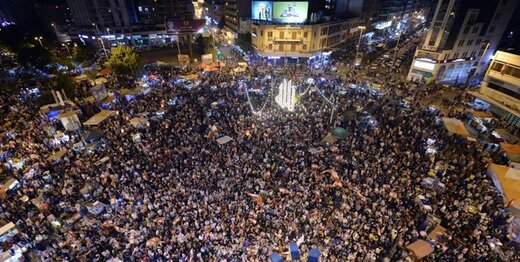 آخرین خبرها از تظاهرات لبنان/تجمع مترضان در برابر منازل سیاستمداران