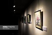 تصاویر | رونمایی از نقاشیهای عباس کیارستمی در یک نمایشگاه