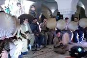 فیلم | جشن و دفنوازی سنندجیها با آغاز هفته وحدت