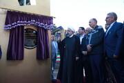 افتتاح پروژههای توسعهای منطقه معدنی و صنعتی گلگهر