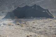نون بافت و برپایی گوت(سیاه چادر ایل سنگسری) ثبت ملی شد  گوت؛ بزرگترین سیاه چادر عشایر در جهان