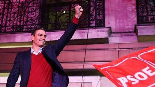 راستهای افراطی در انتخابات پارلمانی اسپانیا اول شدند