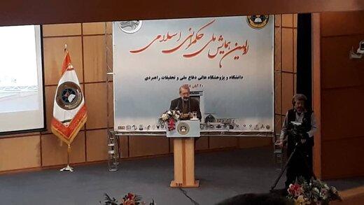 لاریجانی: هیچ دولتی عمدی نداشت که حکمرانی مطلوب شکل نگیرد