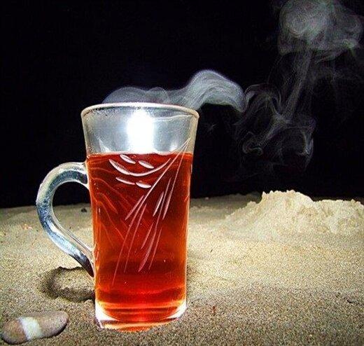 چای داغ ننوشید!