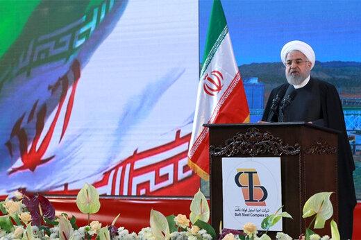 الرئيس روحاني : سيتم رفع الحظر عن الأسلحة الإيرانية العام المقبل