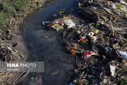 تصاویر | زباله و فاضلاب در آب کشاورزی در ساوه