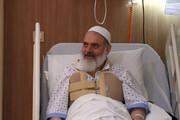 تصاویر | عیادت ناطقنوری، نواب و سردار سلامی از آیتالله حسینی بوشهری