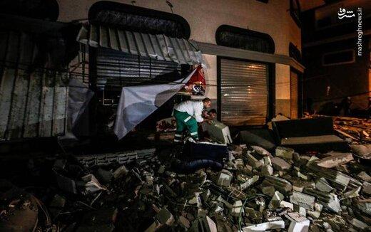عکس/ ترور یکی از فرماندهان ارشد جهاد اسلامی فلسطین