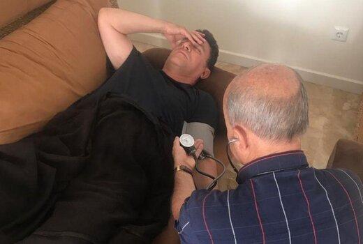 بستری شدن امیر قلعهنویی در بیمارستان/عکس