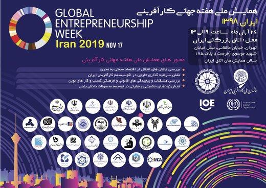 همایش ملی «هفته جهانی کارآفرینی» برگزار میشود