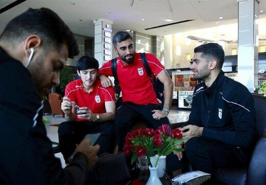 تیم ملی فوتبال راهی اردن شد/عکس
