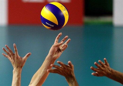 تساوی تیم ملی والیبال ایران و قطر در دیداری دوستانه