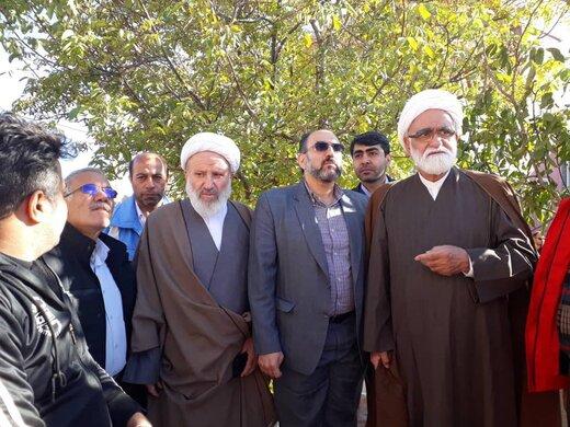 بازدید نماینده ویژه مقام معظم رهبری از مناطق زلزله زده استان آذربایجان شرقی